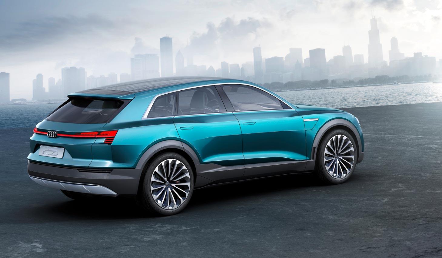 audi e tron quattro conceptul ce prefigureaz viitorul suv 100 electric auto testdrive. Black Bedroom Furniture Sets. Home Design Ideas