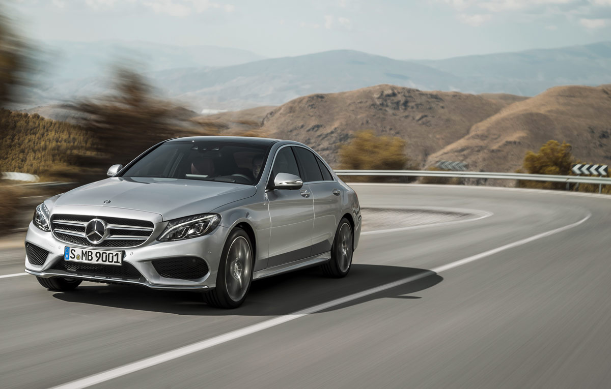 Noul mercedes benz c class a primit cinci versiuni noi for Mercedes benz field