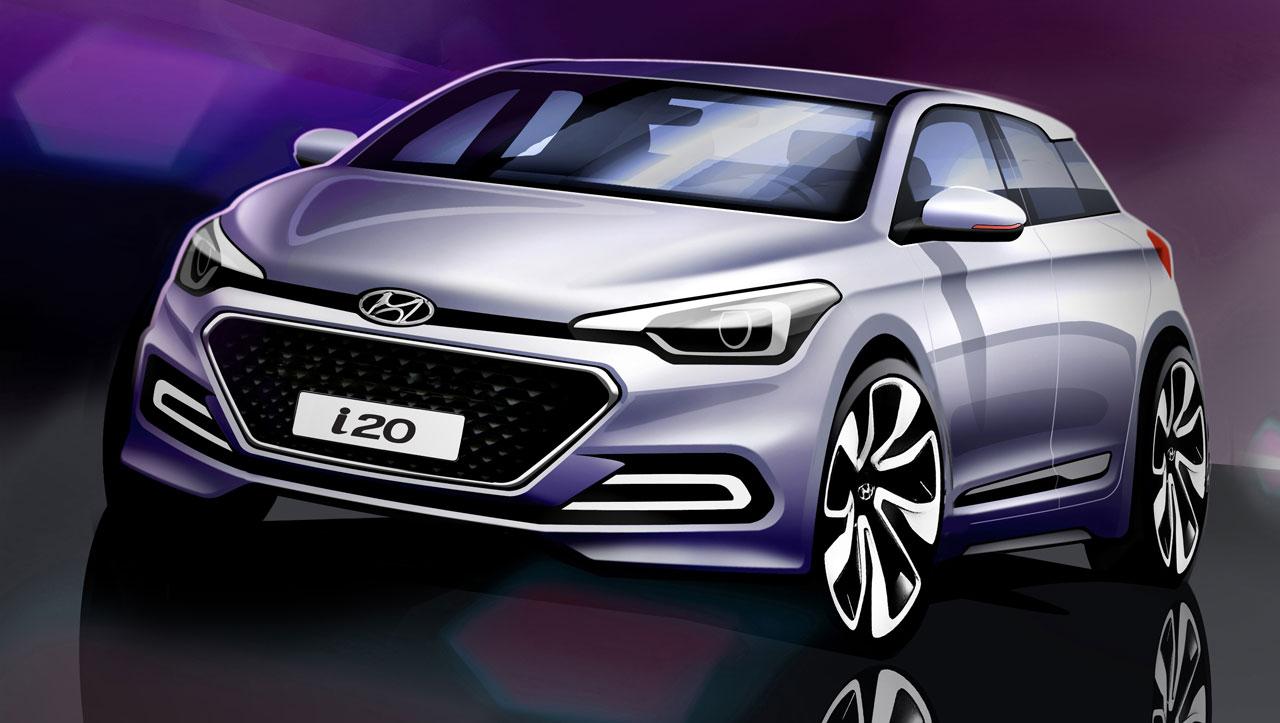 Noul Hyundai I20 2014