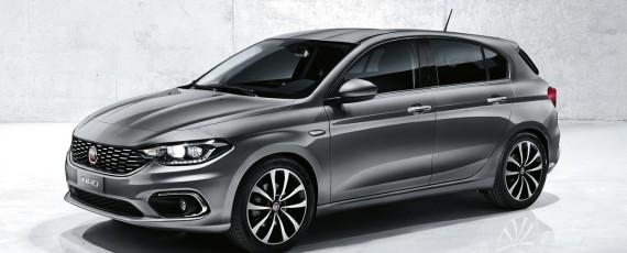 Noul Fiat Tipo hatchback