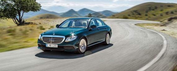 Noul Mercedes-Benz E-Class - preturi Romania