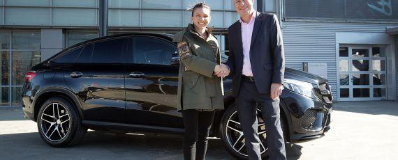 Simona Halep - ambasador Mercedes-Benz in Romania