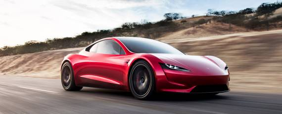 Tesla Roadster - Video