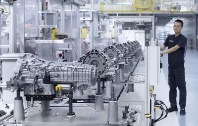 Audi - fabrica S tronic China, Tianjin