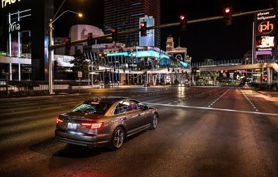 Audi Traffic Light Information V2I