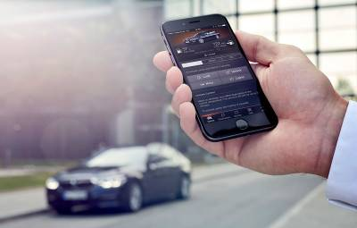BMW Connected - acces remote la masina