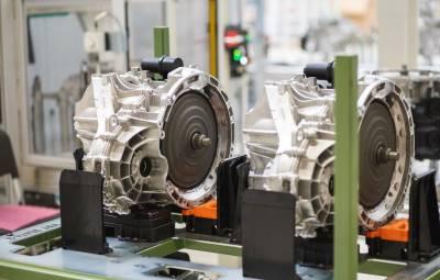 Mercedes-Benz 8G-DCT - fabrica Sebes