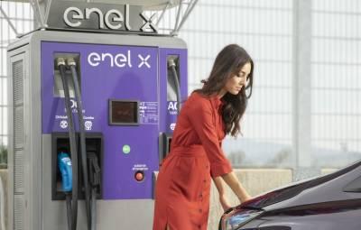 Enel X - retea incarcare masini electrice