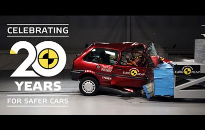 Euro NCAP - 20 de ani