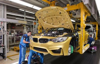 BMW M4 Coupe - fabrica Munchen