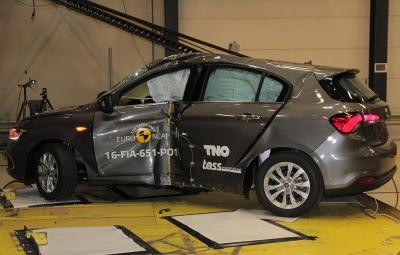 Fiat Tipo - rezultate Euro NCAP 2016