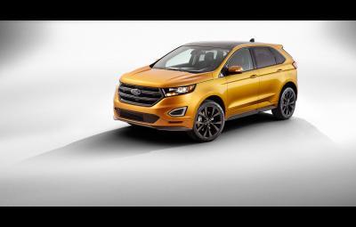 Noul Ford Edge Sport