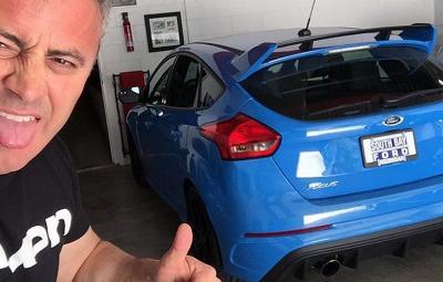Matt LeBlanc - Ford Focus RS