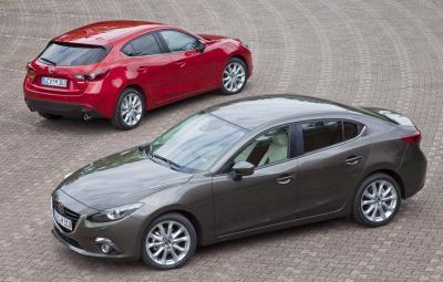 Mazda3 - vanzari 2015 in Romania