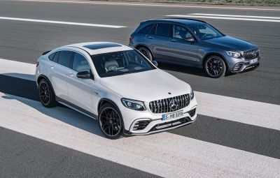 Noile Mercedes-AMG GLC 63 4MATIC+ și GLC 63 4MATIC+ Coupe