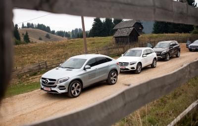 Mercedes-Benz SUV - Cucereste orice drum