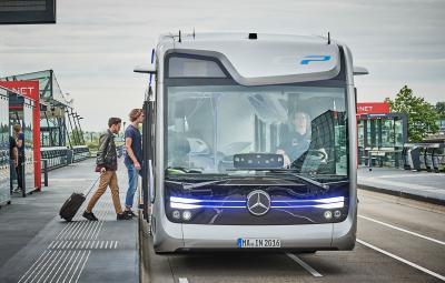 Mercedes-Benz Future Bus - Amsterdam