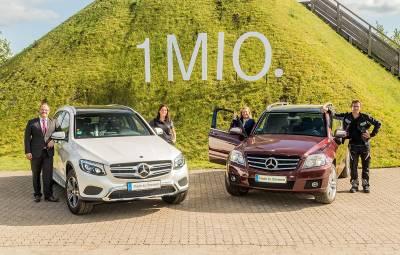 Mercedes-Benz GLC si GLK - 1.000.000 de masini