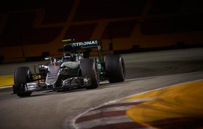 nico Rosberg - pole position Singapore 2016
