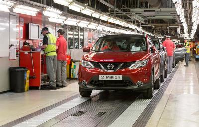 Nissan Qashqai - fabrica Sunderland