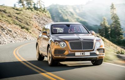 Noul Bentley Bentayga