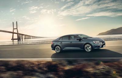 Noul Renault Megane Sedan - video