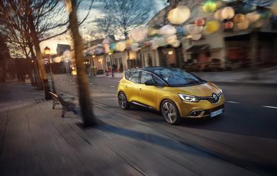 Noul Renault Scenic 2017