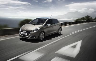 Noul Peugeot 208 - vopsea texturata
