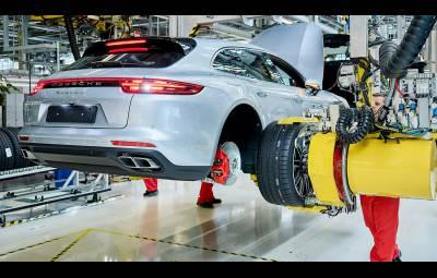 Porsche Panamera Sport Turismo - startul productiei