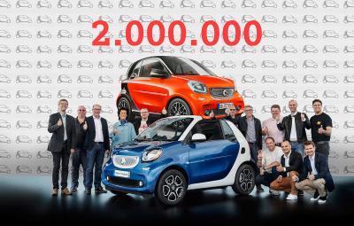 smart - 2.000.000 de masini vandute