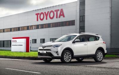 Toyota RAV4 - fabrica Sankt Petersburg