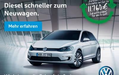 Volkswagen - program de casare TDI