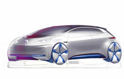 Volkswagen - concept electric Paris 2016