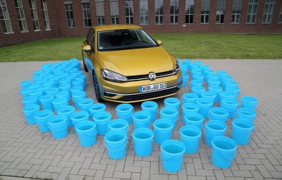 VW Think Blue. Factory