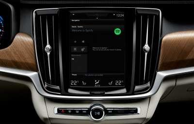 Volvo - servicii Spotify
