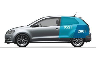 VW Polo trei usi