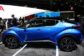 Salonul Auto de la Paris - Toyota C-HR