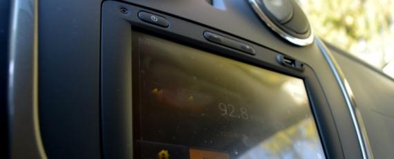 Piesa de rezistenta de la interior - ecranul cu touchscreen