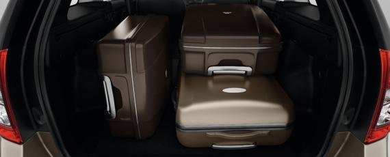 Noul Logan MCV - bagaje