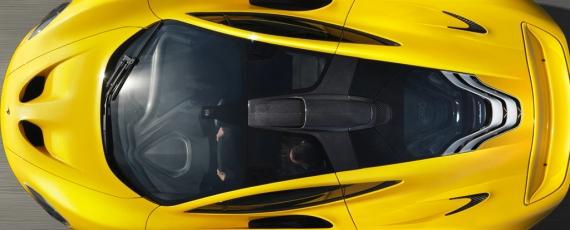 McLaren P1 - plafon