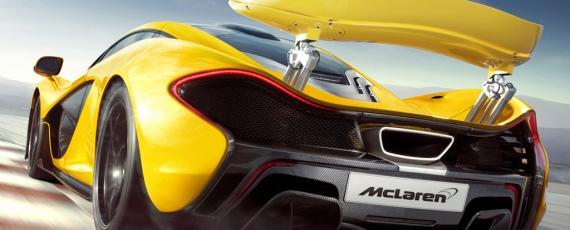 McLaren P1 - spate