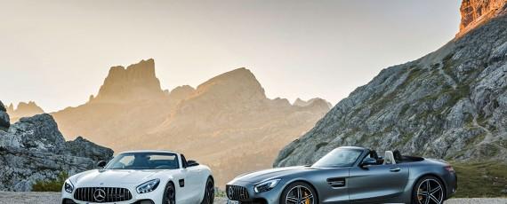 Noile Mercedes-AMG GT și GT C Roadster