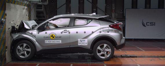 Toyota C-HR - rezultate Euro NCAP (01)