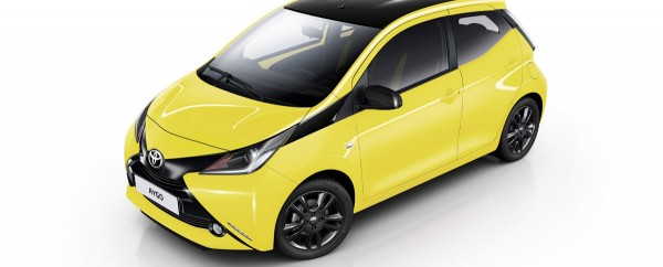 Toyota AYGO x-cite Yellow