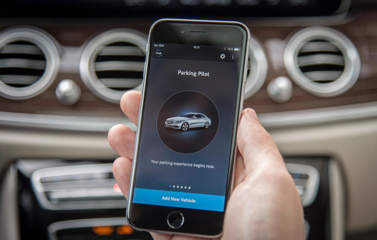 Video noul e class i sistemul remote parking pilot for Mercedes benz field