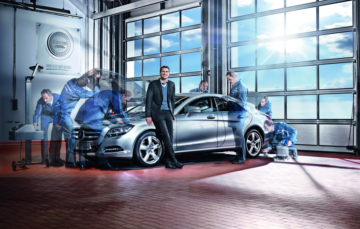 Testul gratuit de lumini campanie mercedes benz for Mercedes benz chantilly service