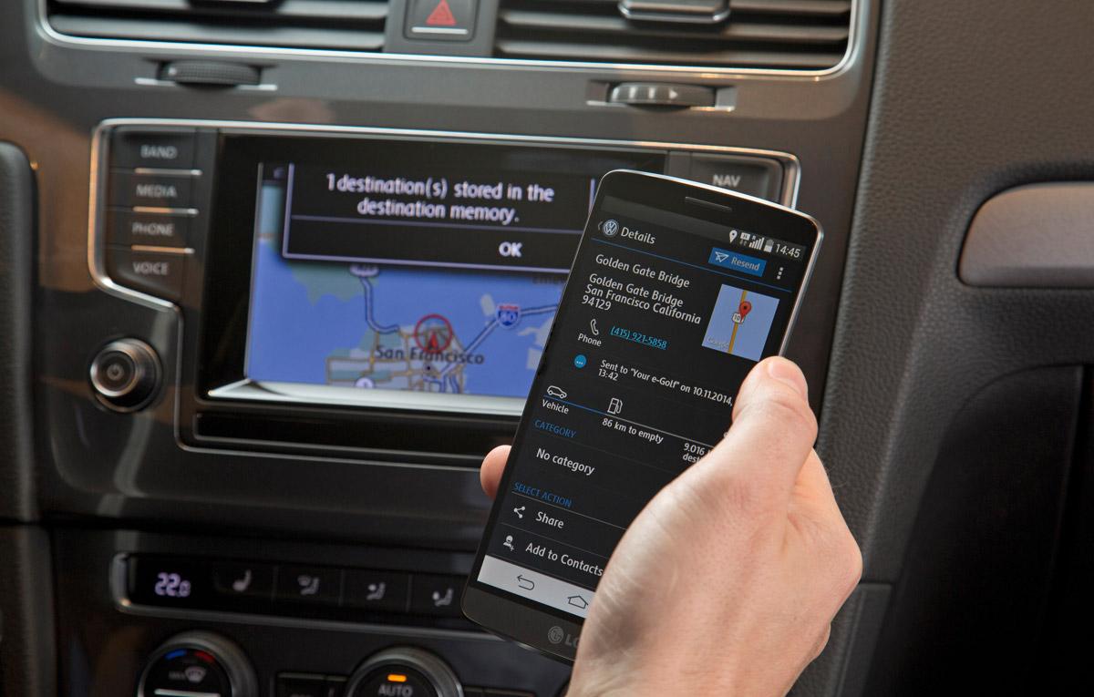 video volkswagen ne prezint pe scurt sistemul car net auto testdrive. Black Bedroom Furniture Sets. Home Design Ideas