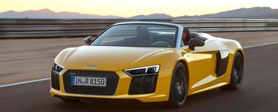 Noul Audi R8 Spyder