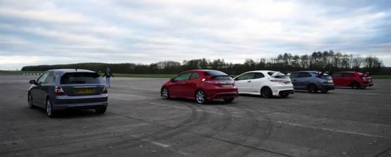 Honda Civic Type R - duel intre generatii