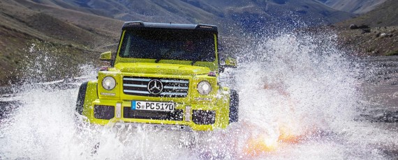 Noul Mercedes-Benz G 500 4x42
